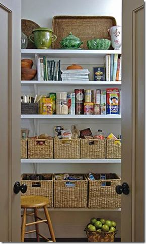 I will have a pantry even if it means children having to share a box room!!!
