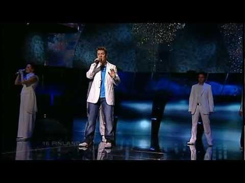 ESC 2005 - Finland - Geir Rönning - Why? [HQ] - YouTube