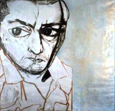 Francesco Clemente's work in Great Expectations.  Love the movie so much and his art contributes largely to it's wonderfulness.