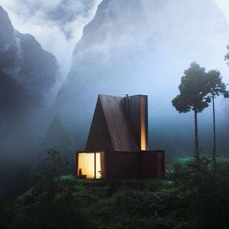 CABIN LOVE #cabinporn #hut #cabin #retreat #escape #architecture #minimalism #light #lifeintheclouds #inspiration http://ift.tt/1KosHdM