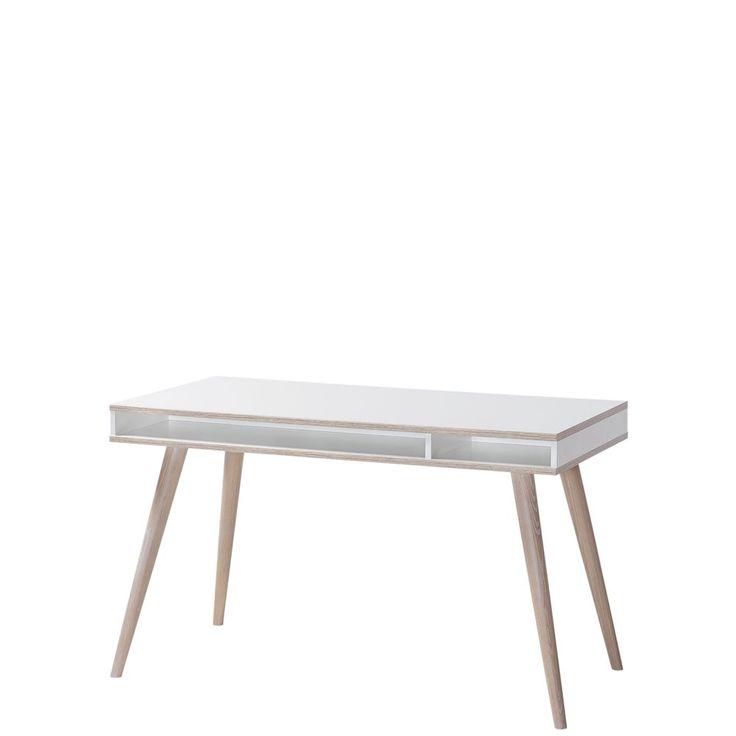 Fabulous Schreibtisch Billund Wei Eiche s gerau Wimex M bel g nstig online kaufen