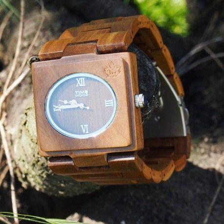 dřevěné hodinky Diadem od TimeWood