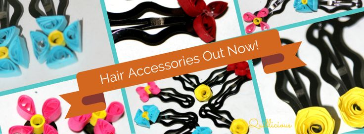Hair Accessories by Quillicious. Order now!