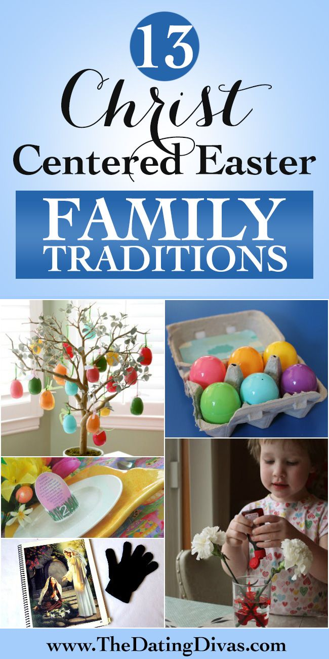 Christ-Centered Easter Family Traditions - These are great!