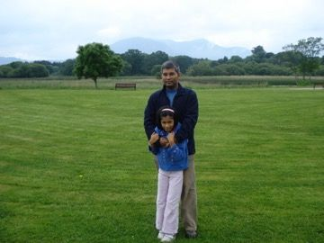 Me with my daughter