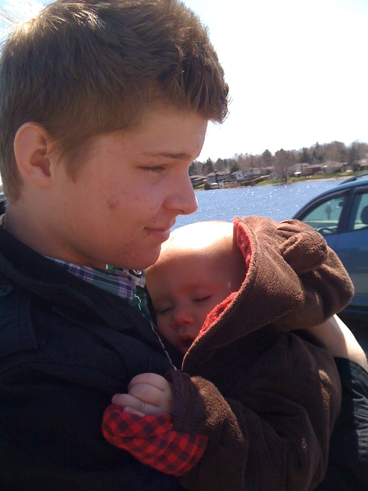 Day 24: Something you are grateful for.  My two sons - Brayden and Oliver. xxoo