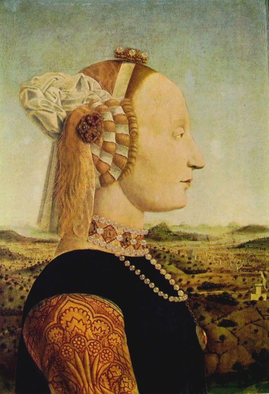 Piero della Francesca: Dittico dei duchi di Urbino