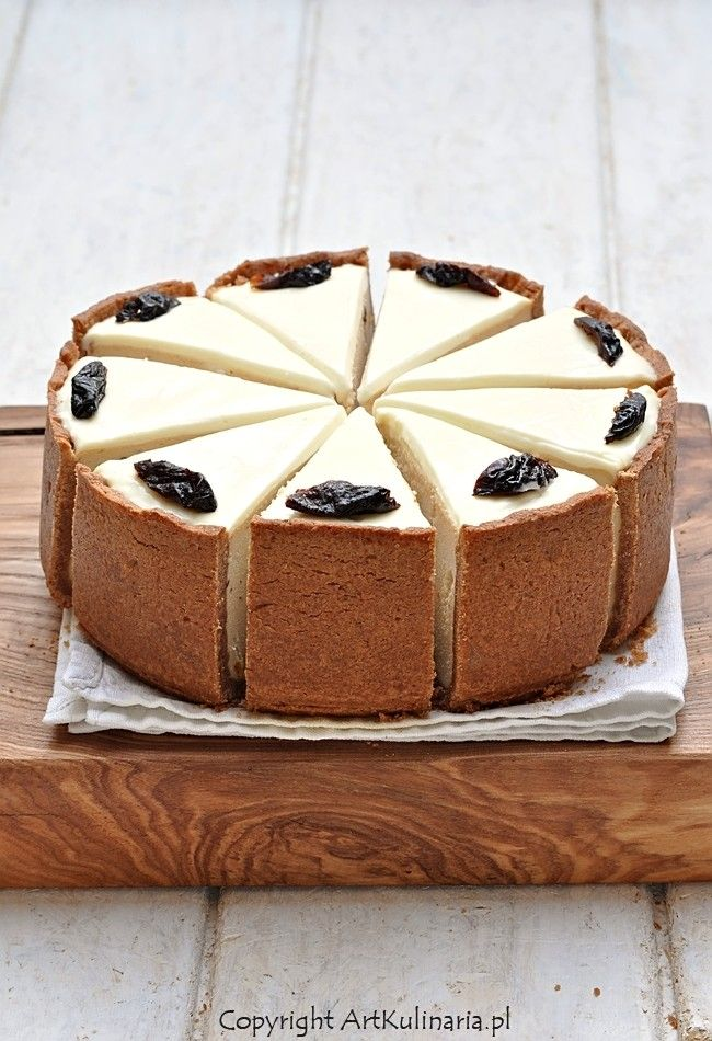 plum cheesecake with cinnamon | ArtKulinaria