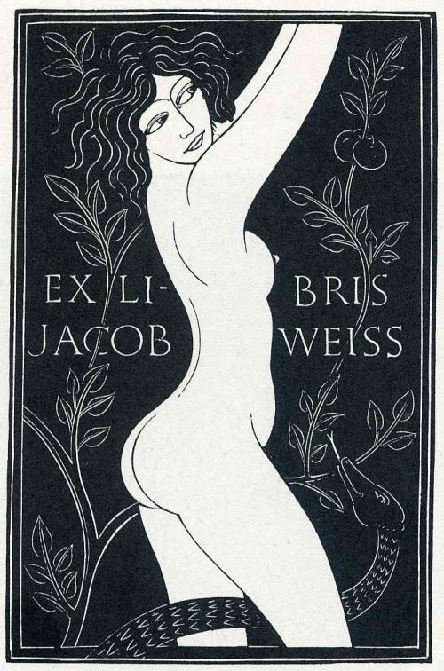 Bookplate by Eric Gill