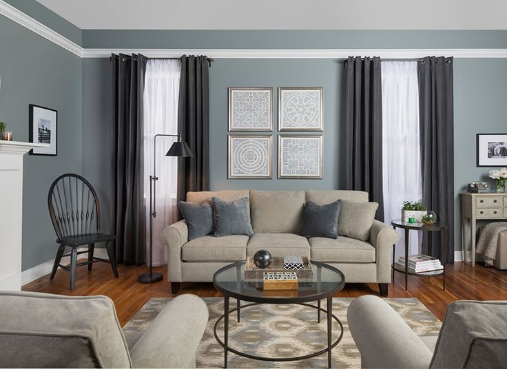 Benjamin Moore Rainstorm Blending In Pinterest