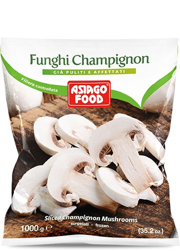 Funghi champignon 1000g - Asiago Food