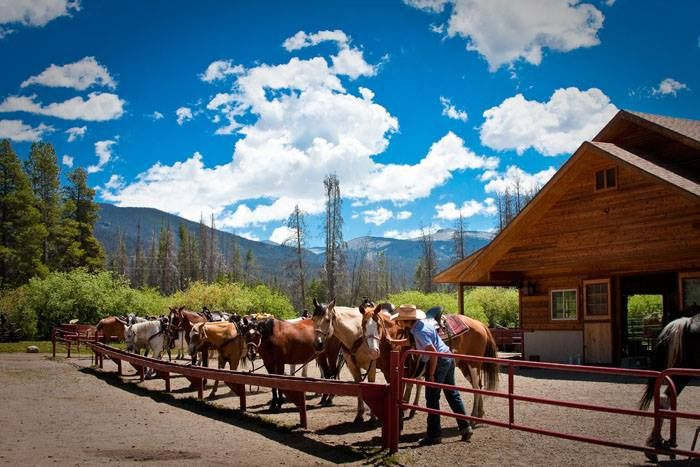 Winding River Resort, CO Horseback riding trails