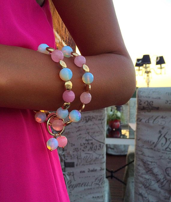set of bracelets от Monamibijoux на Etsy