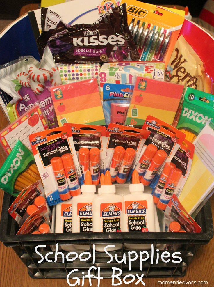 Kindergarten Teacher School Supplies Gift Box
