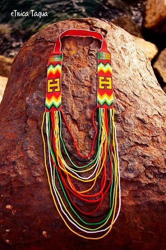 Jewelry stone fantasy of the natives of the region by eTnicaTagua
