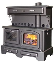 *Please Note: This stove is certified with an emission level as low as 1.349 Gr/Hr and has an efficiency rating of 78.6% (LHV). These results were obtained within official tests conducted by the CSA B 415.1-10 emission standard, which is the Canadian environmental standard that is closest to the environmental standard of the U.S. EPA, and the ULC-S-627.00 safety standard, which is the Canadian equivalent to the UL safety standard in the USA. Our Price: $3,550.00