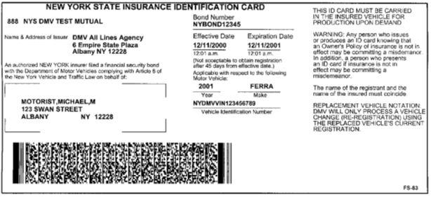 Progressive Auto Insurance Card Sample Learn All About ...