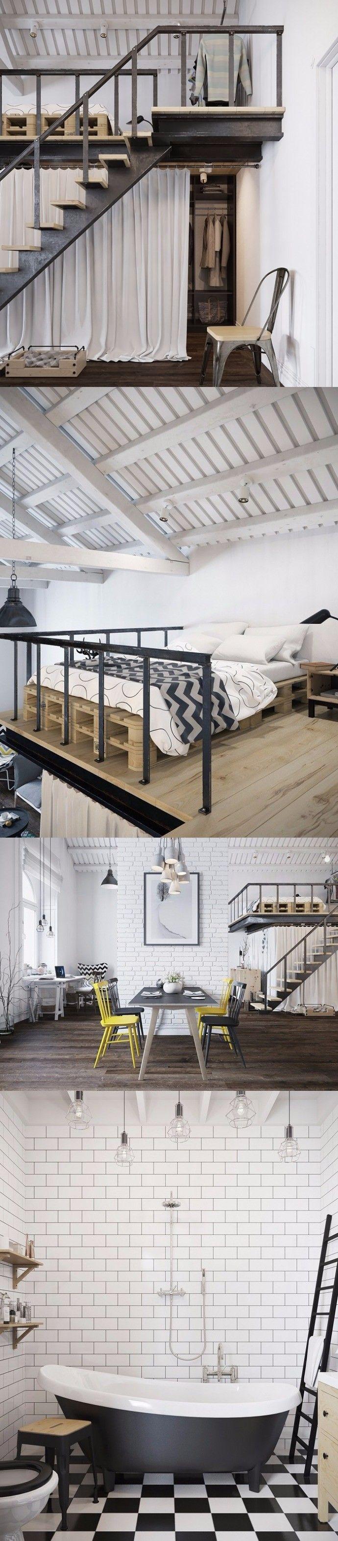 Una casa con detalles curiosos y originales / http://casaenorden.com