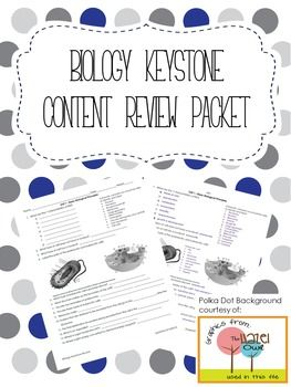 Biology Keystone Content Review Packet with Answer Key ...