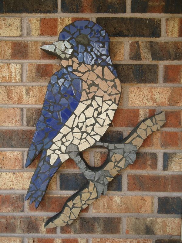 """Bird Mosaic #4""  Custom Artwork - Blank Canvas, LLC  http://blankcanvasllc.weebly.com/custom-artwork.html"