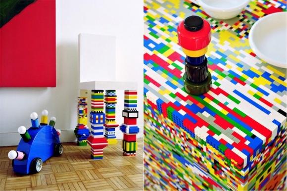 Cozinha de Lego.