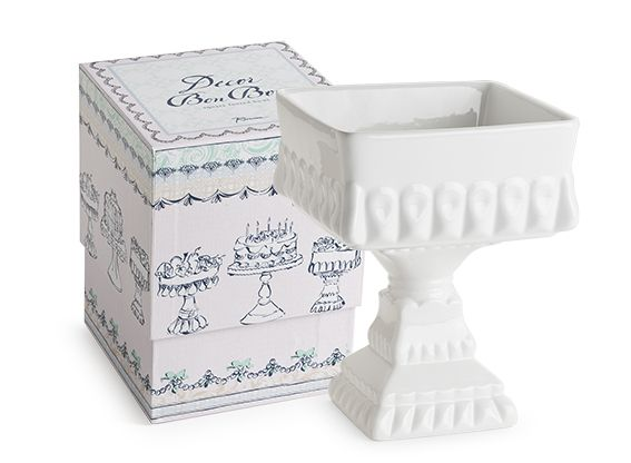 Rosanna Bon Bon Square Footed Bowl —  Perfect for candy buffets, dessert tables, weddings and events.