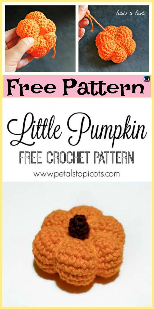 10+ Adorable Crochet Pumpkins - Free Patterns | a knitting ...