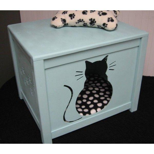 The 25 best diy litter box cover ideas on pinterest for Kitty corner bed ideas