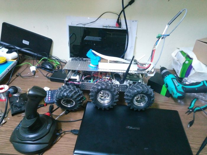 RC CONTROLLER WITH CAMERA