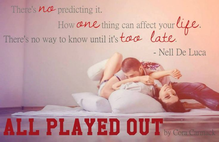 RED MOON...: #Teaser  - ALL PLAYED OUT by Cora Carmack