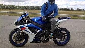 suzuki gsx r 600 cc 2008 - YouTube