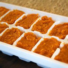 frozen pumpkin ice cubes for my next perfect pumpkin smoothie