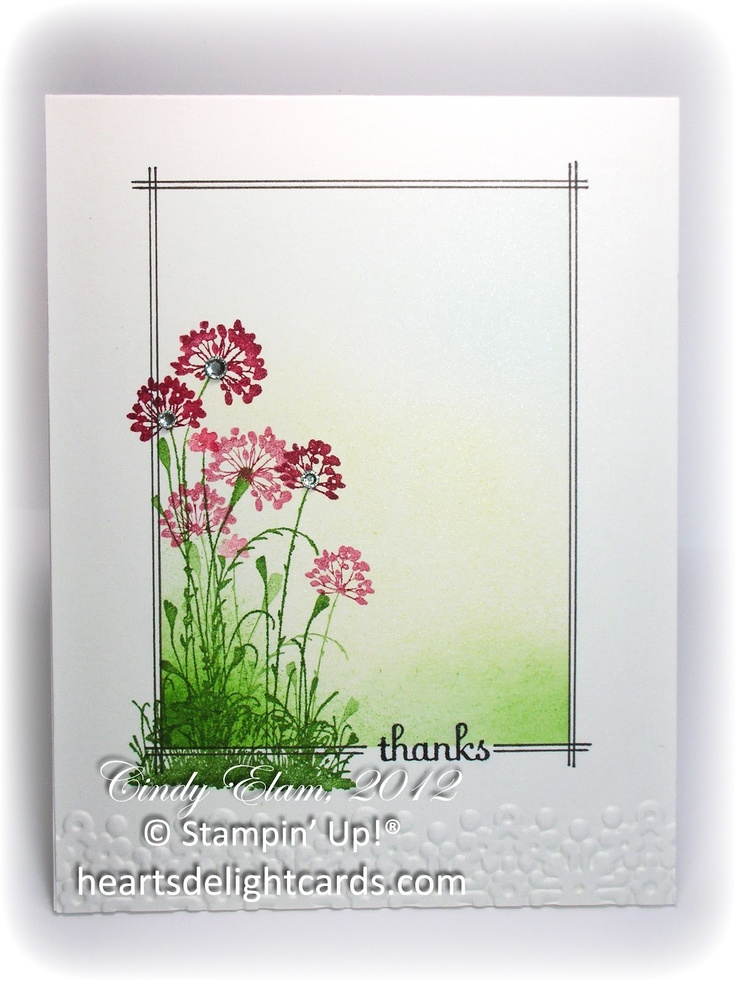 Pics serene silhouettes card ideas cards thank heart s delight