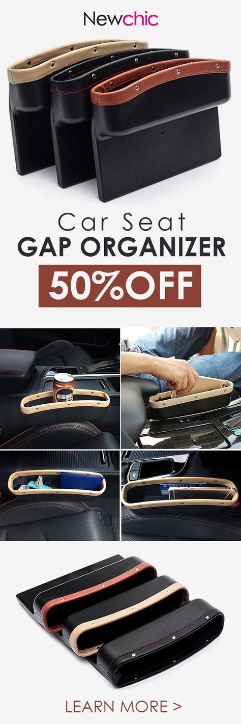 Car Seat Gap Organizer for Universal Cars#newchic#cars#storage#organizer