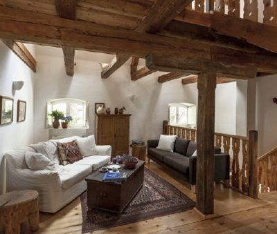1st floor living room w TV and DVD - The Bat Barn Luxury Villa at Lake Balaton