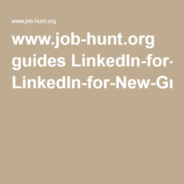 40 best LinkedIn images on Pinterest Career, Job search and Hunting - sample resume for career change