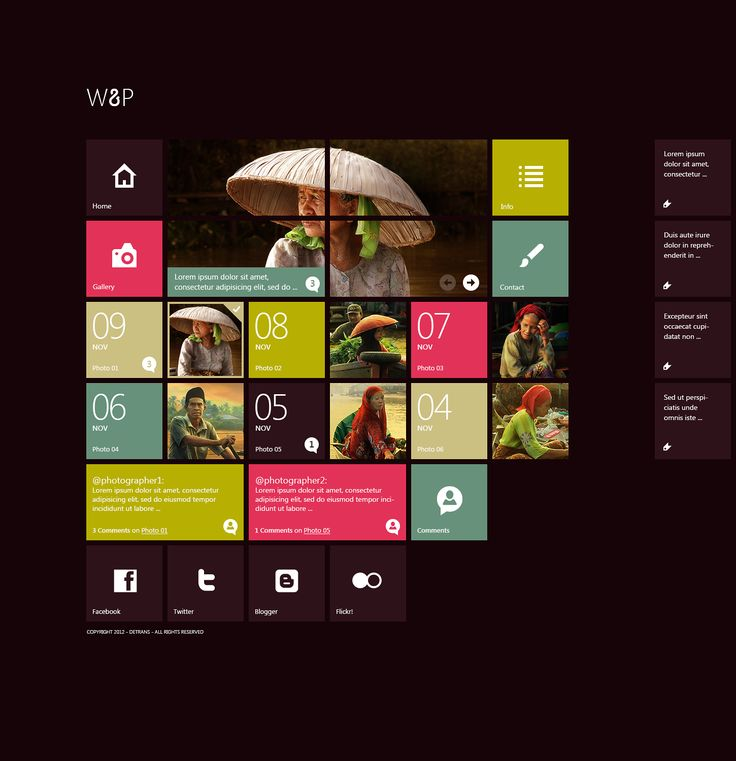 W8P - WordPress Theme