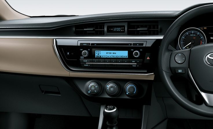 Corolla Altis 1800G Interior2