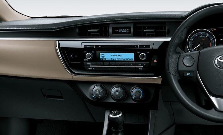 All New Corolla Altis 1800 G Entertainment