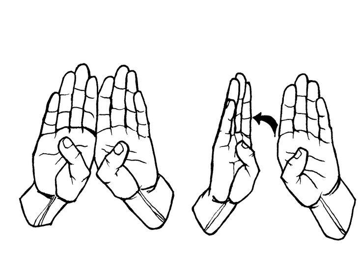 Asl Sign Language For Bathroom | Sign language, Asl signs ...
