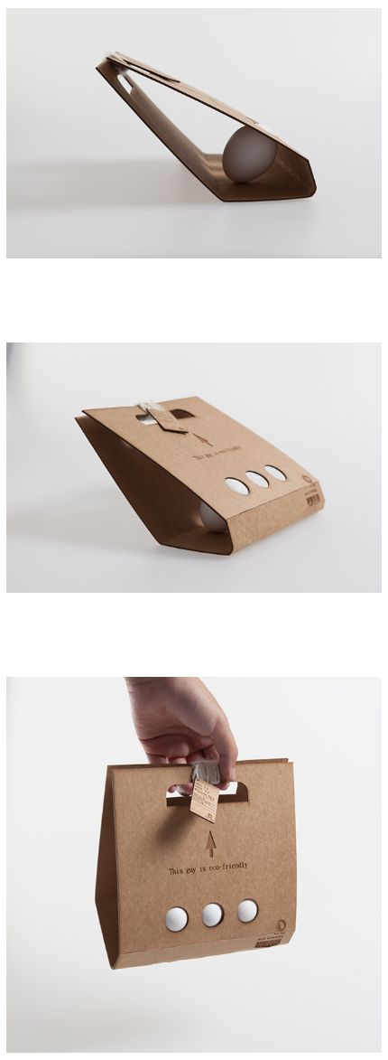 Eco Egg packaging design
