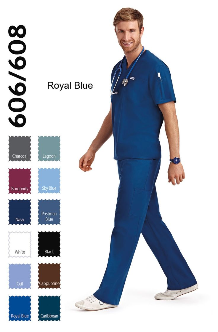 606/608 Set : Unisex Set     5 Pocket Drawstring Unisex Scrub Set  The original in scrub basics. This scrub set has a simple fit and style. The drawstring waist allows for quick and easy dressing and the lightweight fabric is comfortable and easy to wash and wear. The v-neck scrub top features one chest pocket and one shoulder pen pocket and the scrub pant has a total of 5 pockets
