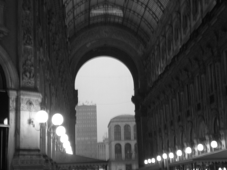 Milan, Galleria Vittorio Emanuele, 1st January 2013