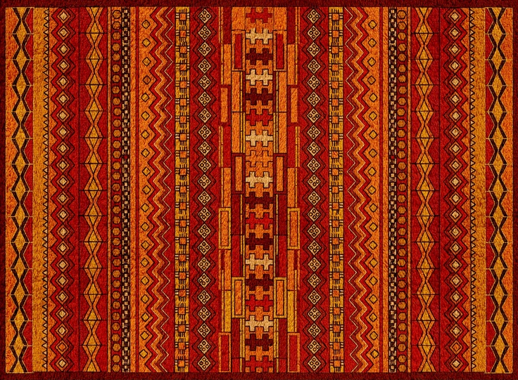 inspiration-zemmour(morrocan) carpets  traditional layout  carpet simulation