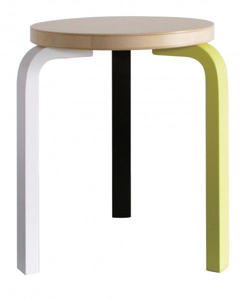 Artek - Products - Chairs - STOOL 60 BY MIKE MEIRÉ