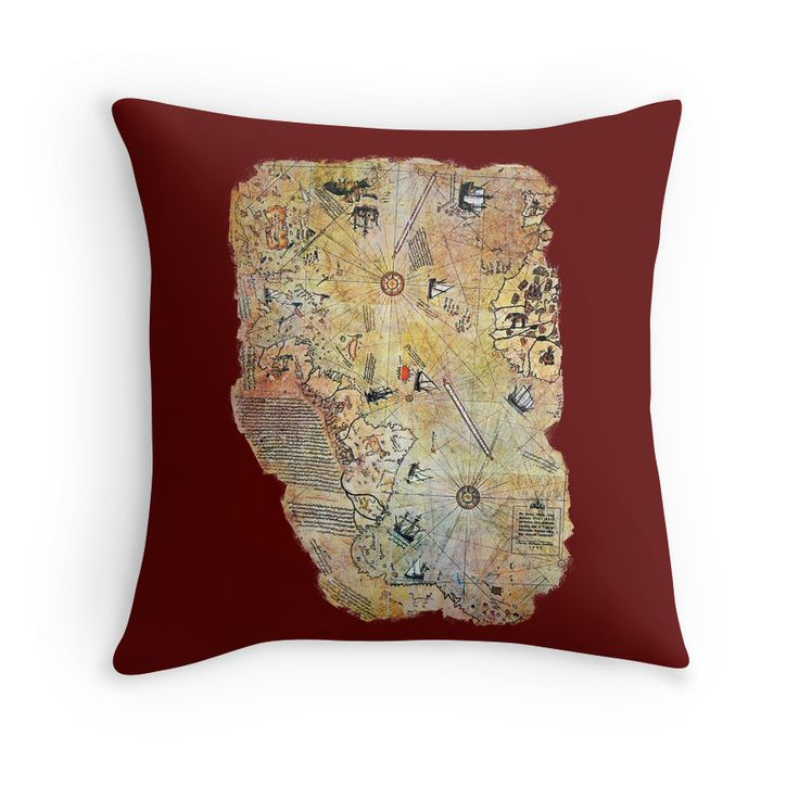 captain piri reis historical old world map