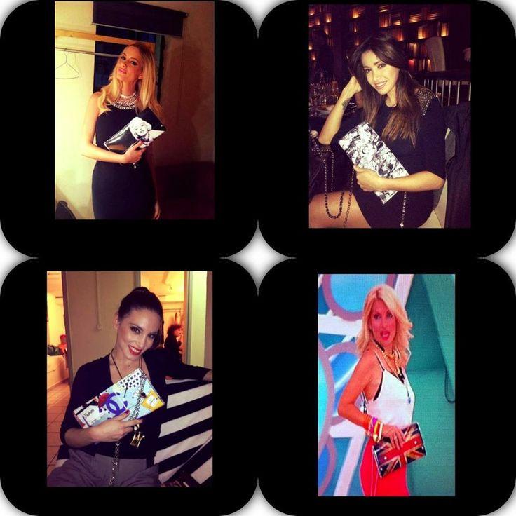 Σας αρέσει το στύλ των αγαπημένων σας CELEBRITIES . . . ? Αρκεί μία τσάντα HAND MADE WITH LOVE ! ! ! Θα τις βρείτε σε πολλά χρώματα στο κατάστημά μας και στο E-Shop μας : http://bsangels.com/index.php/2012-03-20-10-10-32/tsantes.html
