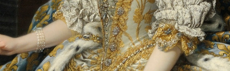 Google Art Project, detail from Marie Leszczinska, Queen of France: Mary Leszczinska, Gold Digger, Google Art, Art Projects