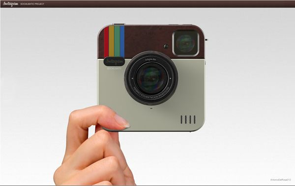 The Instagram Socialmatic Camera Concept Would Bring The Photo Sharing App To