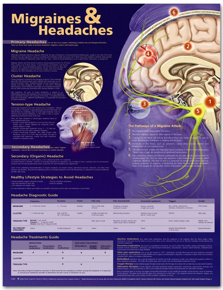 Migraines and Headaches Chart